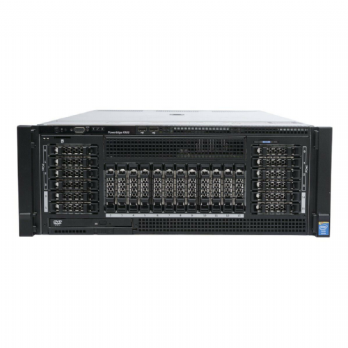 Dell  PowerEdge R920 Server 4x 12-Core E7-4850 v2 2.3Ghz 128GB Ram 2x 300GB HDD
